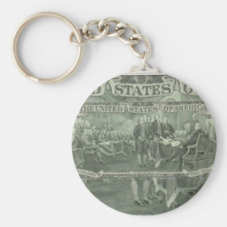 Declaration of Independence Keychain