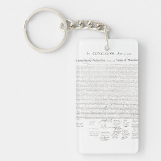 Declaration of Independence Keychain