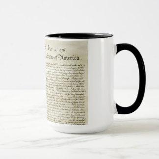 Declaration of Independence Mug