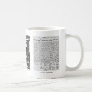"""Declaration of Independence"" mug"