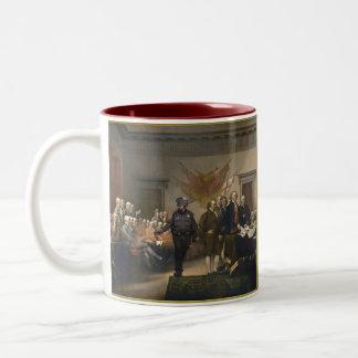 Declaration of Independence Pepper Spray Mug