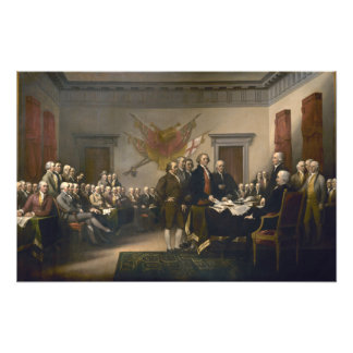 Declaration of Independence Photo Print