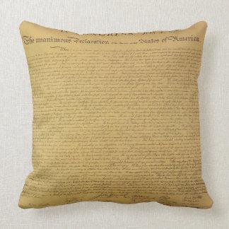 Declaration of Independence Pillows