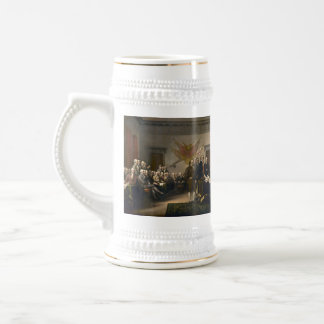 Declaration of Independence Presented To Congress 18 Oz Beer Stein