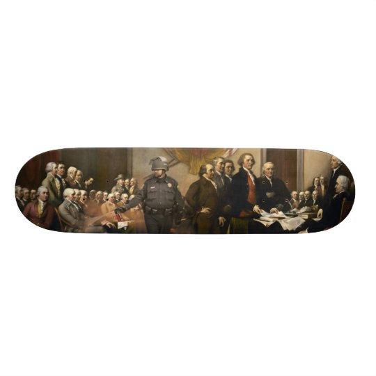 Declaration Of Independence Skateboard Deck