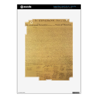 Declaration of Independence Skin For iPad 3