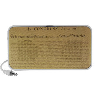 Declaration of Independence Mini Speakers