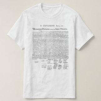 Declaration of Independence T Shirt