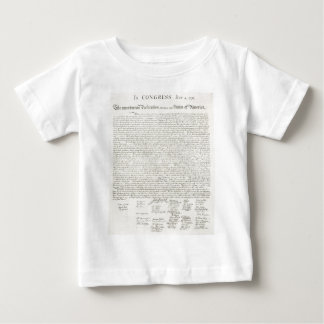 Declaration of Independence Two Baby T-Shirt