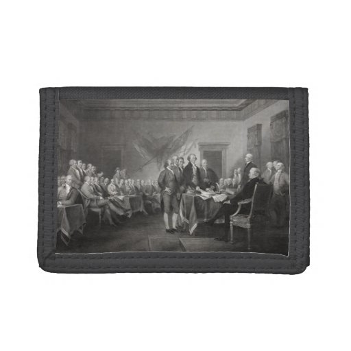 Declaration of Independence Trifold Wallets