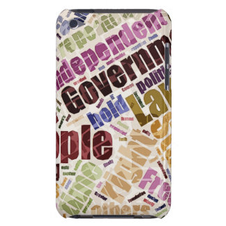 Declaration of Independence Word Cloud Barely There iPod Case