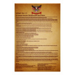 Declaration of IndependenceV-1-Style-1 Posters