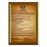 Declaration of IndependenceV-1-Style-2 Posters