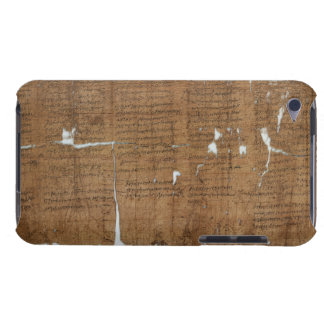 Declaration of Prices Papyrus dated 319 A.D. Barely There iPod Case