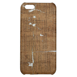Declaration of Prices Papyrus dated 319 A.D. iPhone 5C Case
