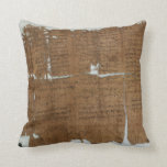 Declaration of Prices Papyrus dated 319 A.D. Pillows
