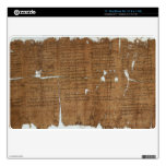 Declaration of Prices Papyrus dated 319 A.D. Decal For MacBook