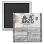 Declaration of the marriage of Frederick V Magnets