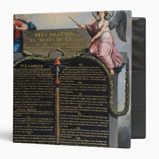 Declaration of the Rights of Man and Citizen 3 Ring Binder