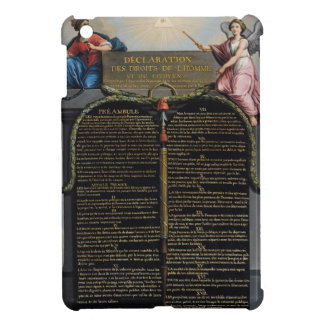 Declaration of the Rights of Man and Citizen iPad Mini Cover