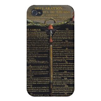 Declaration of the Rights of Man and Citizen iPhone 4 Case
