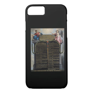 Declaration of the Rights of Man and Citizen iPhone 8/7 Case