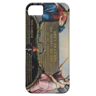 Declaration of the Rights of Man and Citizen iPhone SE/5/5s Case