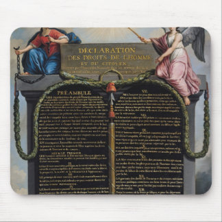 Declaration of the Rights of Man and Citizen Mouse Pad