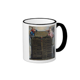 Declaration of the Rights of Man and Citizen Ringer Mug