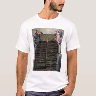 Declaration of the Rights of Man and Citizen T-Shirt