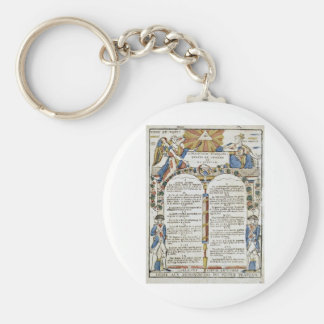 Declaration of the Rights of Man and of Citizen Keychains