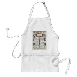 Declaration of the Rights of Man and of the Citize Adult Apron