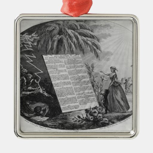 Declaration of the Rights of Man Christmas Ornament