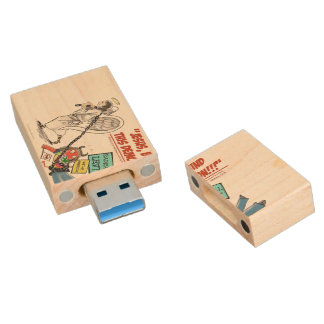 Declare Spiritual Warfare! USB Wood USB Flash Drive