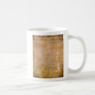 Declare su independencia tazas de café