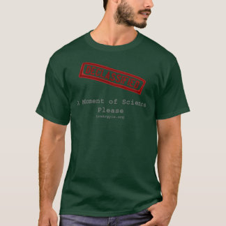 DECLASS Stamp, Moment of Science T-Shirt