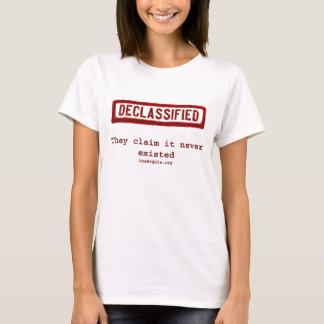 DECLASS Stamp, Never Existed T-Shirt