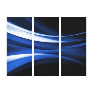 Deco 3B abstracto Lienzo Envuelto Para Galerias