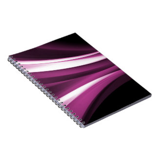 Deco 3F abstracto Spiral Notebooks