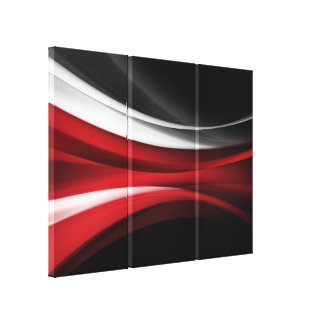 Deco Abstract3 Canvas Print