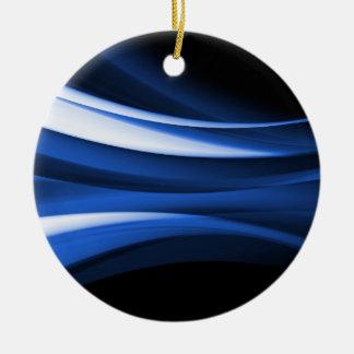 Deco Abstract 3B Ceramic Ornament