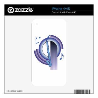 Deco Alto Clarinet iPhone 4 Skins