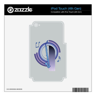 Deco Alto Clarinet Skin For iPod Touch 4G