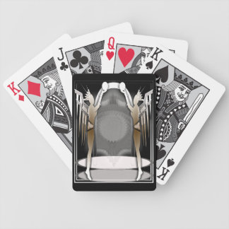 deco angels bicycle playing cards