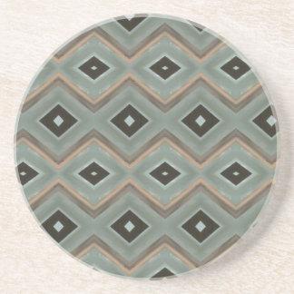 Deco Argyle Coaster