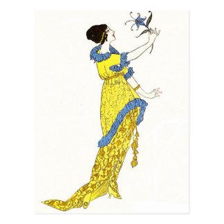 Deco Art Postcard