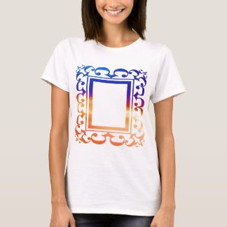 DECO BORDER: ADD TEXT OR IMAGE T-Shirt