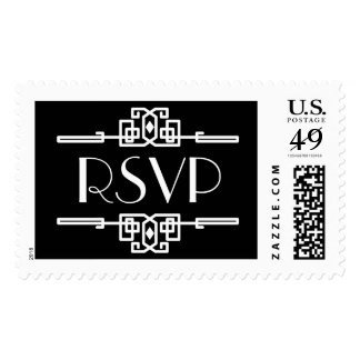Deco Border Rsvp | Atelier Isabey Stamps