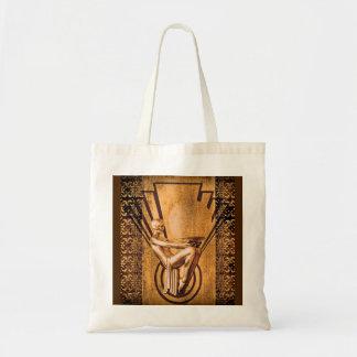 Deco Bronze Tote Bag