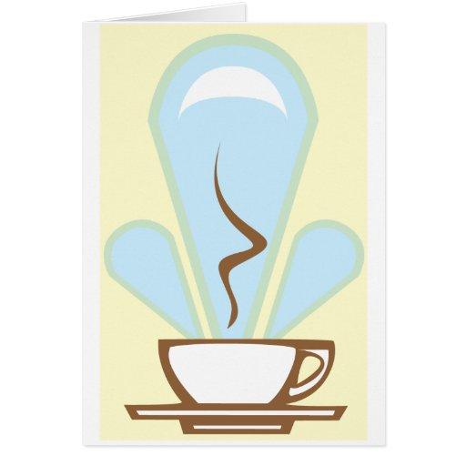 Deco Coffee Card